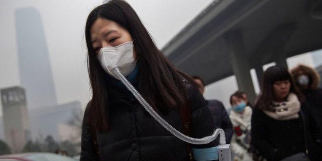 全球空污程度變本加厲,有澳洲企業家外銷清新空氣,大獲好評。(圖片摘自網路)
