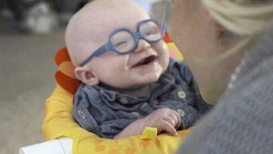 Photo of 媽咪我看到妳了! 罕病寶寶看到媽媽的表情萌翻了