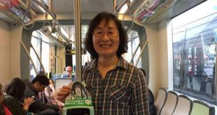 台北市交通局長鍾慧諭17日是在市府上班最後一天,她仍忍不住要講些專業人該講的話,並強調台灣公共政策被少數反對者給引導。  圖片來源:鍾慧諭臉書