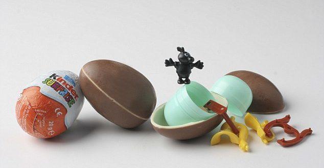 「健達出奇蛋」是國內外最受最受小朋友喜歡的零食之一,但最近卻被有心人是用來做非法勾當。(圖片來源/翻攝自DailyMail)