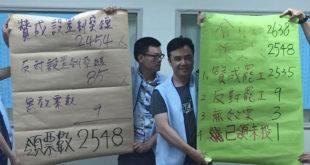 華航空服員透過投票正式取得罷工權,揚言將在暑假進行罷工。  圖片來源:桃園市空服員職業工會
