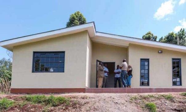 聚苯乙烯房屋冬暖夏涼的特性,在肯亞夏天仍可保持屋內涼爽。(圖片來源:globalconstructionreview)