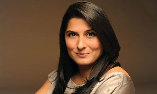導演奇諾依表示,同樣身為巴基斯坦人,對於家暴婦女處境能感同深受。(圖片來源:voiceofjournalists)