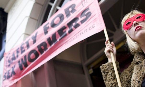 特赦組織表示性工作的人權需要重視。(圖片來源:amnesty)