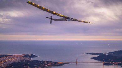 Photo of 太陽能飛機抵達紐約 不靠一滴油環遊世界