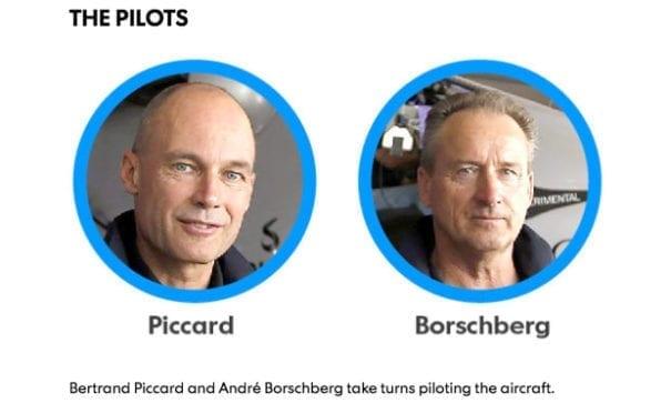 太陽能動力2號由2位瑞士籍機師駕駛。(圖片來源:usatoday)
