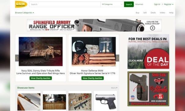 美國民眾上網買槍司空見慣。(圖片來源:gunbroker)
