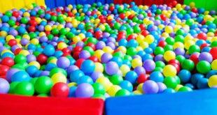 小朋友最愛的球池,易成為腸病毒的溫床。(圖片來源:翻攝網路)