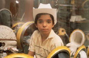1984年12歲時的大衛。(圖片來源:http://www.chron.com/)