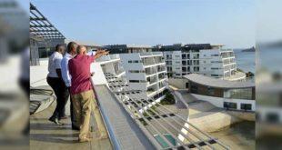 肯亞大舉興建保麗龍屋,讓更多人買得起房。(圖片來源:jambonewspot)
