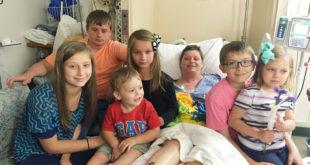 單親媽媽貝絲,癌末臨終前心繫6名子女,希望他們不要被迫分開收養。(圖片來源:bp)