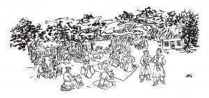 純樸多樣的秦朝生活。(圖片來源:時報出版)