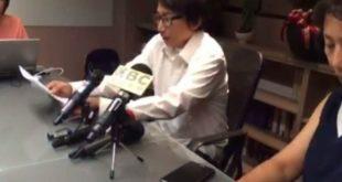 秦偉昨天召開記者會,為桃色事件道歉,並否認性侵,表示願配合檢調偵查。(圖片來源/翻攝自網路)