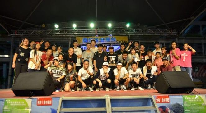 花蓮「高校搖滾舞台」,青少年展現活力與才藝。(圖片來源:台灣世界展望會)