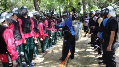 Photo of 天龍八『不』漆彈賽 青少年與警察PK槍法