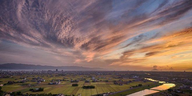 蘭陽平原。〈圖片來源:風景線/楊易兼〉