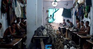 在貧窮的孟加拉,許多小孩為了圖溫飽,在工作環境極差的成衣廠工作。(圖片來源/翻攝自網路)