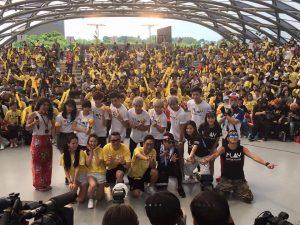 「綜藝玩很大」開播兩週年,主持群今日出席特別節目現場。(圖片來源:Kid臉書)