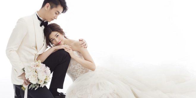 陳妍希和陳曉婚紗照走清新浪漫風格,與兩人的個性很搭配!(圖片來源/翻攝自網路)