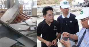 台東縣長黃健庭面對台東的風災,一開始無法接受,但後來慢慢看見上帝的美意。  圖片來源:黃健庭臉書/爆料公社