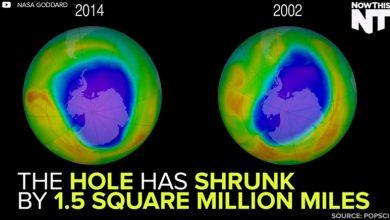 Photo of 環保有效! 南極臭氧層破洞只剩1/7
