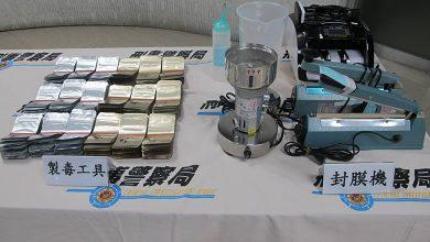 Photo of 毒販鎖定海洋音樂祭 警查獲毒品咖啡包工廠