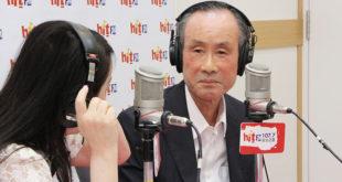 遠雄董事長趙藤雄接受媒體專訪,面對大巨蛋一案,他說,「我想我雖然老了,但絕對不頑固。」  圖片來源:Hit Fm提供