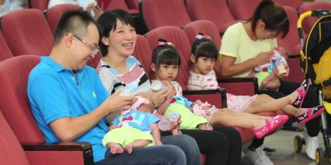 現年33歲的護理師陳淑芬,因不孕症進行試管嬰兒療程,成功產下2女3男。(圖片來源:翻攝網路)