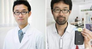 日本泌尿科醫生小堀善友發明了一款特殊鏡頭,男性只需在家將精液放在鏡頭上,就能透過手機檢查精子品質。(圖片來源/翻攝自網路)