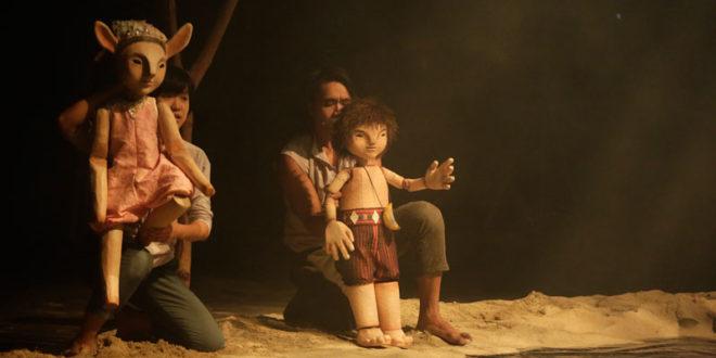 布農族故事   《東谷沙飛傳奇》首度由鞋子兒童實驗劇團搬上舞臺。(圖片來源:鞋子兒童實驗劇團)