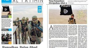 「Al Fatihin」為「伊斯蘭國」將勢力深入馬來西亞所發行的馬來語刊物。(圖片來源/翻攝自網路)