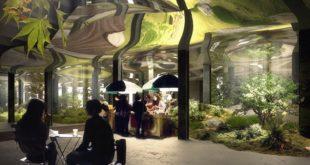 「低線公園」計畫,要在紐約打造世界首座地下公園,其特殊的「天光」(Skylight)系統,可讓地上陽光導入地下,讓植物能自然生長。(圖片來源/翻攝自網路)
