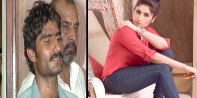 巴基斯坦男子瓦希姆(圖左),近日以「榮譽謀殺」之名殺死了親妹坎迪爾(圖右)。坎迪爾因其直言敢行的個性,在巴基斯坦成為知名「網紅」。(圖片來源/翻攝自網路)