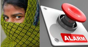 印度希望透過手機「一鍵報警」功能,防範女性被性侵。(圖片來源:翻攝網路)