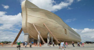 美國一群基督徒在肯塔基州重現諾亞方舟。(圖片來源:翻攝網路)