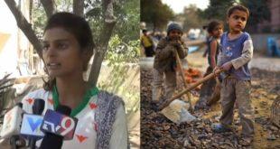 印度童工問題嚴重,英勇的女學生喬希(左)臥底工廠,救出111名童工。(合成照/圖片來源/翻攝自網路)