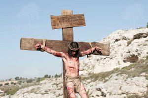 耶穌被釘十字架,三天後從死裡復活,完成對全人類的救贖。(圖片來源:http://autumnvr.com/)