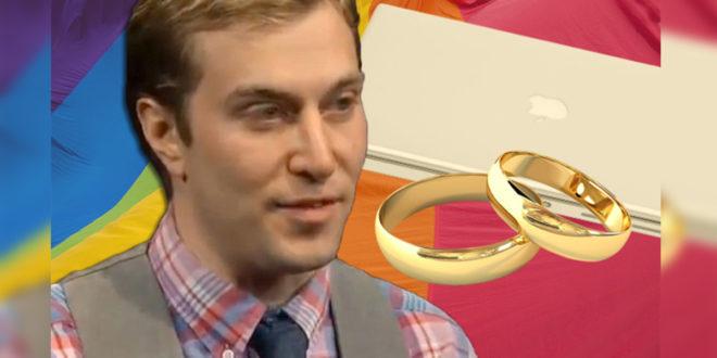 美國猶他州一名男子向州政府申請跟電腦結婚,遭到拒絕後告上法院。(圖片來源:metrouk2)