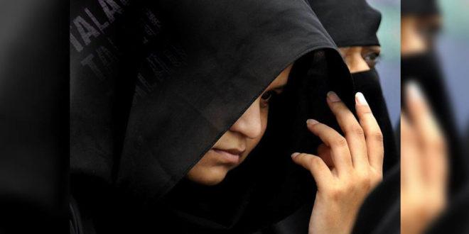 穆斯林婦女被休掉只因為丈夫說了talaq。(圖片來源:thehindu)