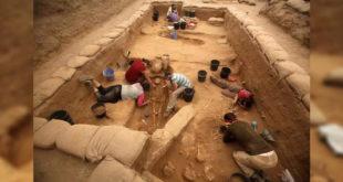 考古學家此次發現了200多具骨骸及文物(圖片來源:nationalpost)