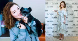 21日Selina出席倩碧美妝品活動,瘦身有成的她尖下巴都跑出來了。(圖片來源:Selina臉書&倩碧提供)
