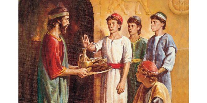 從《但以理書》第10章第3節中,我們看到但以理在悲痛的時候,也不吃肉、「美味」和酒,只靠蔬菜和水維生,依然長的精壯結實。(圖片來源:whatyoumustknow.com)