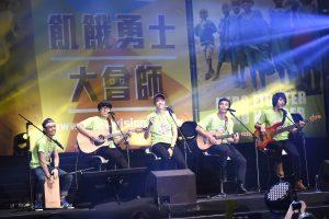 八三么用歌聲為營友加油。(圖片來源:台灣世界展望會提供)