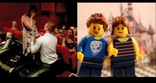 安德森請動畫師,用樂高積木玩具為他設計一段動人的求婚影片。(翻攝網路)