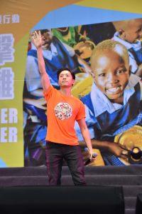韋禮安現身演唱為飢餓勇士加油。(圖片來源:台灣世界展望會提供)