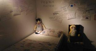無助的孩童等待社會的關懷。(圖片來源:張國樑攝)