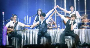 五月天昨晚在高雄舉辦演唱會,這次會捐出1500萬的收益給公益團體,可說是做愛心不落人後。(圖片來源:相信音樂提供)