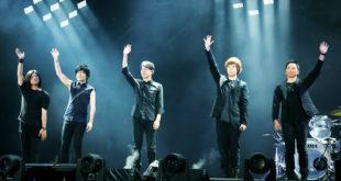 五月天〈Just Rock It 〉2016演唱會前進北京鳥巢連開三場。(圖片來源:相信音樂提供)