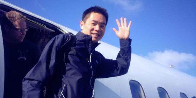 被拒絕的勇氣作者蔣甲。(圖片來源:Jia Jiang臉書)
