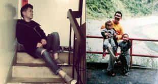 當了17年的單親爸爸李思聖,靠著毅力克服一路上的辛酸歷程。(圖片來源:翻攝臉書)